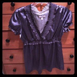 Tops - Purple blouse size large